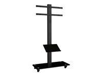 Multibrackets M Broschure Shelf Floorstand - Hylla - svart - floor stand mountable 7350022734005